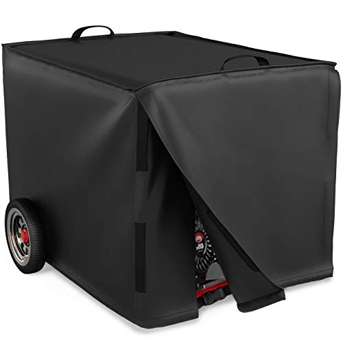 NUPICK 32 inch Generater Cover for Universal Portable Generators 5000-10,000 Watt, Waterproof and Windproof Cover, 32 x 24 x 24 inch