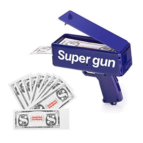Viapeu Money Gun Make It Rain Blue …