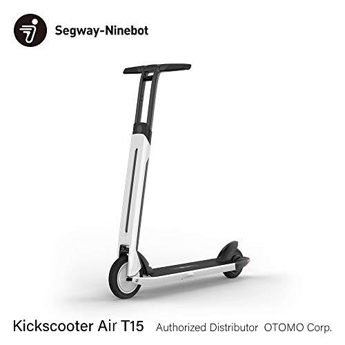 Segway-Ninebot Kickscooter Air T15 電動 キックスクーター エアー 折りたたみ コンパクト 軽量 1年保証 正規品 セグウェイ ナインボット 50432