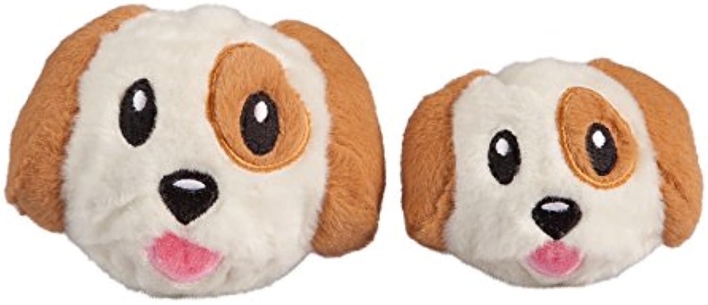 Dog Toy  FabDog FabBall Dog Emoji, Medium