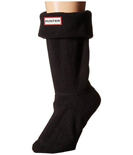 HUNTER Short Boot Socks, Black (Short), Size MD (Women's Shoe 5-7)