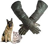 KSHU Guanti per la Protezione degli Animali Manipolazione Anti-morso Resistente Resistente toelettatura Cane/Gatto/Uccello/Serpente/Lucertola Protezione morso-Medio_Un
