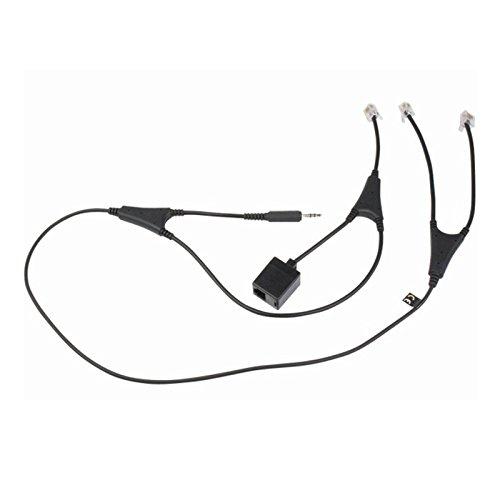 Jabra Link 14201-36 Alcatel MSH-Adapter für Jabra Go/Pro-Headsets mit Alcatel IP-Touch-Handyen 4028/4038/4029/4039