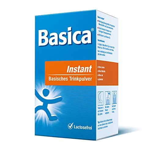 Basica Instant, basische Trinkpulver, für einen ausgeglichenen Säure-Basen-Haushalt, vegan, laktose- und gutenfrei, ohne Süßstoffe, 300 g