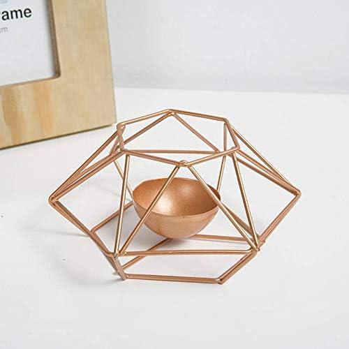 National products QYLLXSYY Fashion Free Shipping New Geometric Iron Candlestick Holder Candle Wall O