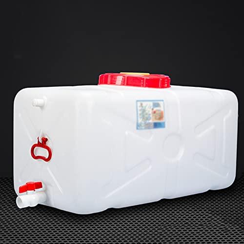WWJQ Tanque de Agua Potable para Exterior con Tapa,...