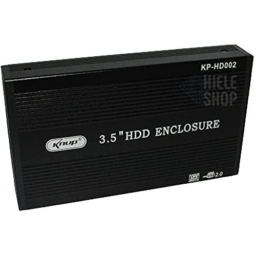 Case 3.5 HD Sata USB 2.0 Para PC e Notebook KP-HD002