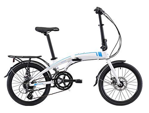 Kespor Adult 20-inch Wheels Rear Carry Rack Folding Bike