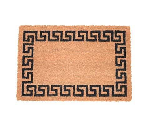 Zerbino ingresso casa, tappeto ingresso interno, zerbino ingresso esterno, zerbino in fibra di cocco naturale, tappeto asciugapassi 60x40