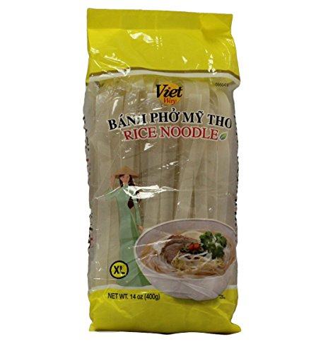 Viet Way Rice Noodle Sticks for Pho, 14oz (3 Packs) (XL)