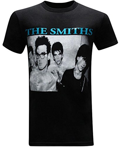 The Smiths Classic Rock Band Men's T-Shirt - (Close Up) - L