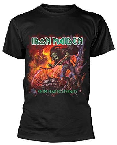 Iron Maiden 'from Fear To Eternity Album' (Black) T-Shirt (XX-Large)