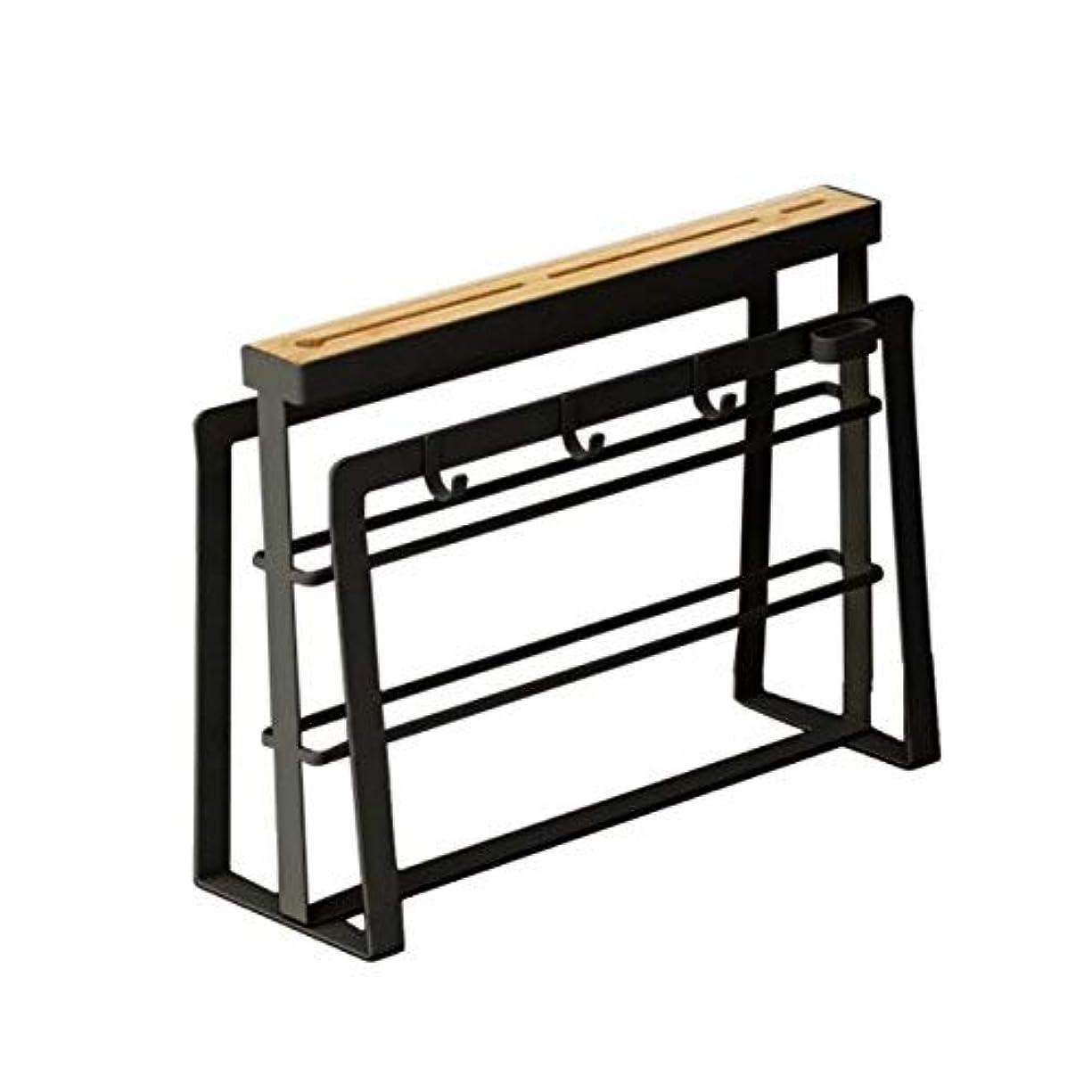 昼間クレタ設置包丁&まな板スタンド まな板立て キッチン用品ラック 収納 鍋蓋 立て コンパクト 収納 ホルダー キッチン ツールスタンドまな板 水切りラック