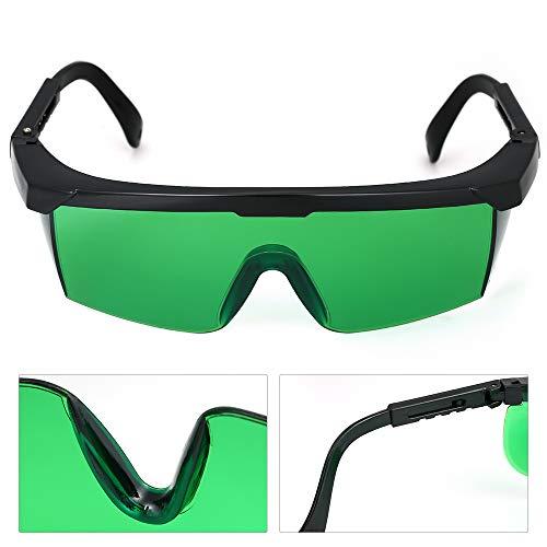 KKmoon Blue Violet Gafas de Protecci/ón l/áser Gafas Protectoras Contra L/áser Lentes de Protecci/ón Ocular Gafas Protectoras para uso Industrial