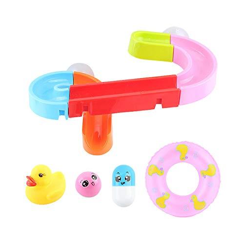 gousheng Baby-Badespielzeug, Saugmarmor-Spielbahn, Kinderbadewanne Spielen Wasserspielzeugdusche