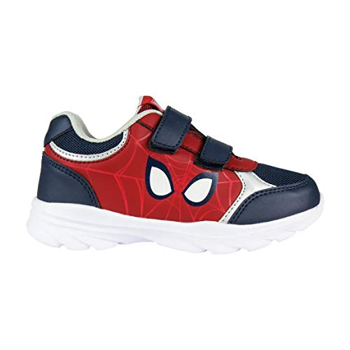 Artesania Cerda Deportiva Suela Ligera Spiderman, Zapatillas para Niños, Azul (Azul C37), 25 EU