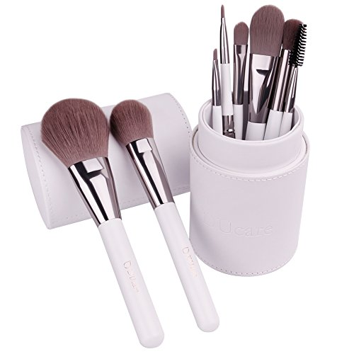 DUcare Makeup Pinsel Set 8-teilig Professionelles Makeup Pinsel für Gesicht, Lidschatten, Eyeliner,...