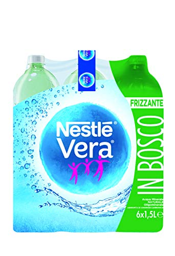 VERA - Acqua Minerale Naturale Frizzante Oligominerale 1,5L x 6
