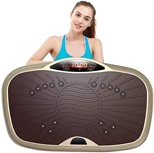 N&W Vibration Plate Exercise Machine -Body Fitness Vibration Trainer Exercise Power Plate with 99 Levels Speeds for Lose Fat Body Toning in Gym Home Office