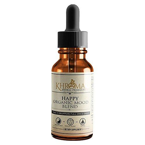 Khroma Herbs Organic Mood Supplement 30 Servings