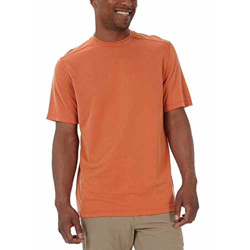Royal Robbins T-Shirt en Tricot piqué pour Homme - Orange - X-Large