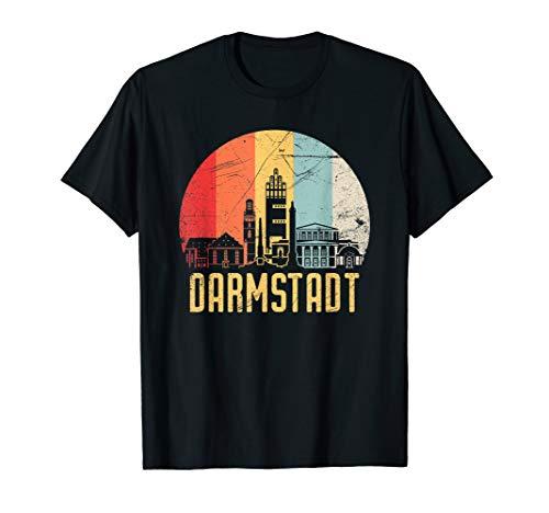 Darmstadt I 80er Retro Souvenir I Vintage Design T-Shirt