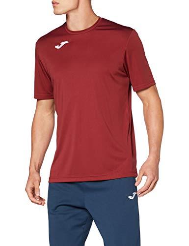 Joma Combi Camisetas Equip. M/C, Hombres, Burdeos, L