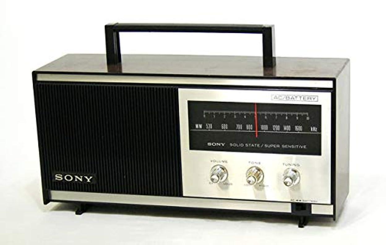 クリップキャラクターインタビューSONY ソニー TR-629A MW(AM)ホームラジオ