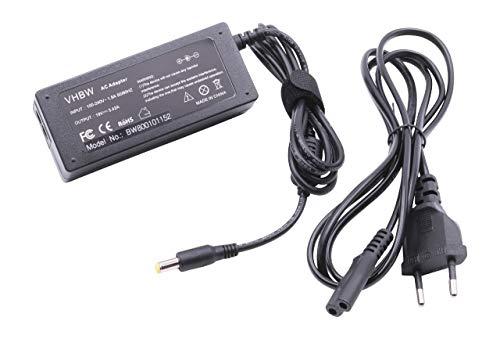 vhbw AC Netzteil 65W passend für Acer eMachines E630, E720, E725, E727, G420, G525, G625 Notebook, Laptop
