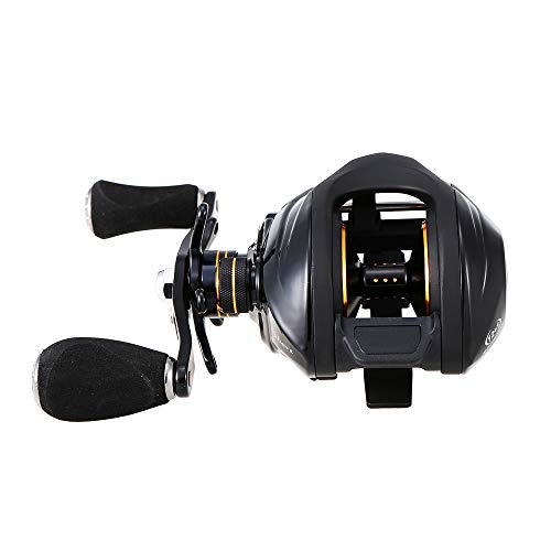 Walory Carrete de Pesca de Lanzamiento de Cebo - Mano Derecha - Rodamientos de Bolas 12 + 1 Sistema de Freno Magnético de Carrete Baitcasting Relación de Engranajes de 6,3: 1