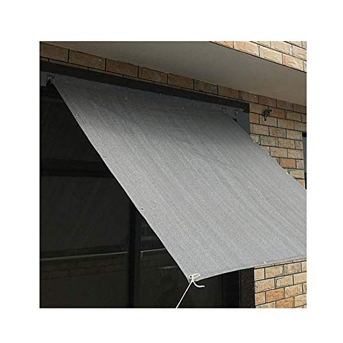 XXHJWXCM Netttage de l'ombre, Tissu d'ombrage de crème Solaire, bâche de Maille de Tissu résistant aux UV pour la Serre de la Plante de Serre ombragée bordée écoulée (Size : 2×10M)