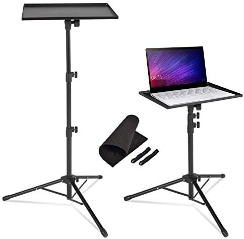 AkTop Pro Laptop Projector Tripod Stand Universal Laptop Floor Stand Adjustable Tall 23 to 46 product image