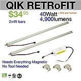 LED Waves Qik Retrofit LED Light Bars (2x4)