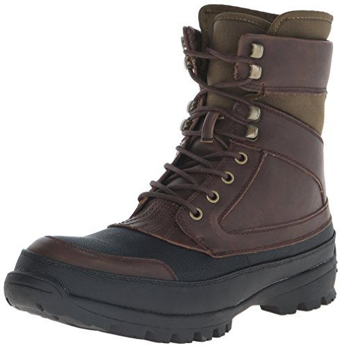 Kenneth Cole Unlisted Men's Whole Nation Combat Boot, Brown, 9.5 M US
