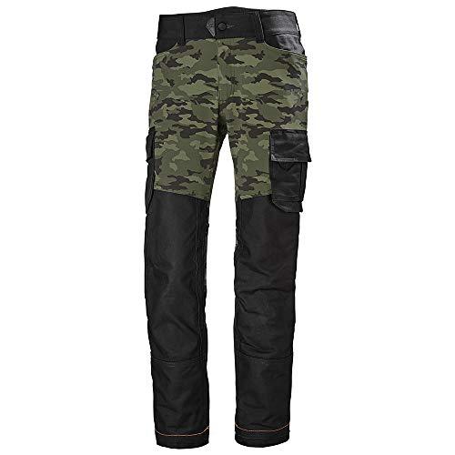 Helly Hansen Workwear Pantalon Bosses, Camo, C52-Waist 36\