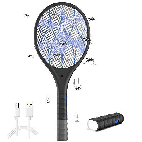 que es lo mejor raqueta matamoscas eléctrico elección del mundo