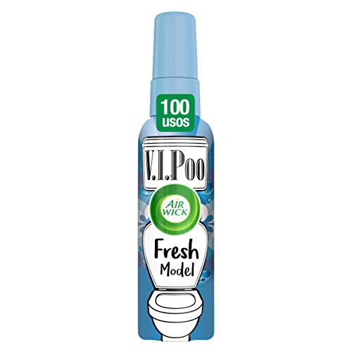 Air Wick VIPoo Spray para el WC, Fresh - 55 ml