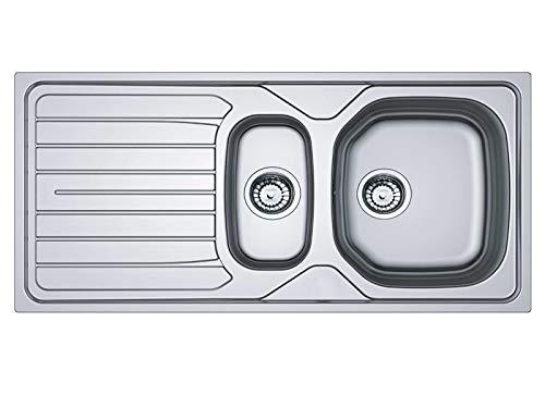 Franke Reno RNX 651 - Edelstahl Spüle Exzenterbetätigung Küchenspüle