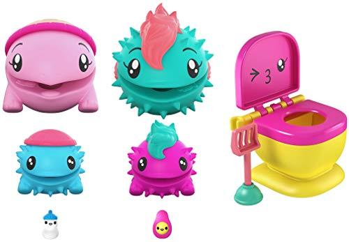 Mattel POOPAROOS FAMILYROOS Figures Multipack