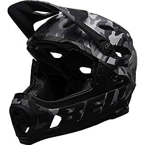 BELL Super DH MIPS Adult Mountain Bike Helmet - Matte/Gloss Black Camo (2021), Medium (55-59 cm)