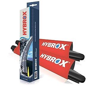 hybrox frontal Limpiaparabrisas Set 1218 X: Amazon.es: Coche y moto