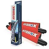 HYBROX FRONT Scheibenwischer SET1189X
