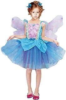 e26d27618 Disfraz Hada Azul niña infantil para Carnaval (7-9 años)