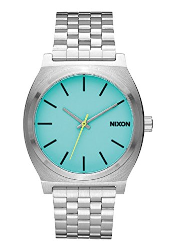 Nixon Reloj unisex Time Teller X Night Vision Collection Seafoam Lum