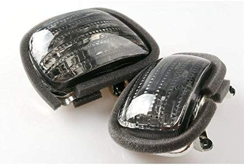 lowest Mallofusa Front Turn Signal wholesale Light Lens Cover Replacement Compatible for Honda GL1800 Goldwing 2001 2002 2003 2004 2005 2006 2007 2008 online sale 2009 2010 outlet online sale