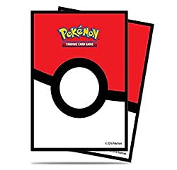 cheap Ultra Pro Pokeball Deck Sleeve (65 pieces) Standard size