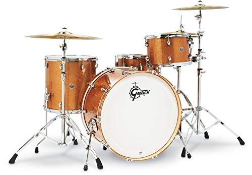 Gretsch Drums Drum Set, Bronze Sparkle (CT1-R444C-BS)