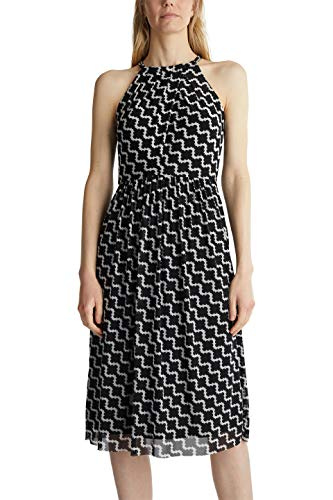 ESPRIT Collection Damen 040EO1E327 Kleid, 114/OFF White 5, M
