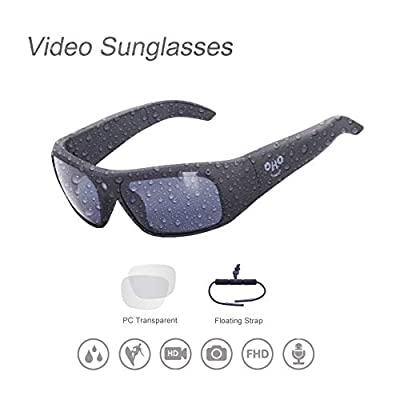 Waterproof Video Sunglasses,Xtreme Sporting 1080P Ultra HD Video Recording Camera and Polarized UV400 Protection Safety Lenses by SHENZHEN LANGZHIYIN ELECTRONIC CO.LTD.