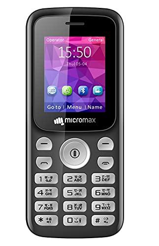 Micromax X378 Dual SIM, Black